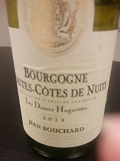 Jean Bouchard Bourgogne Hautes Côtes de Nuits Les Dames Huguettes(ジャン・ブシャール ブルゴーニュ オート・コート・ド・ニュイ レ・ダム・ユゲット)