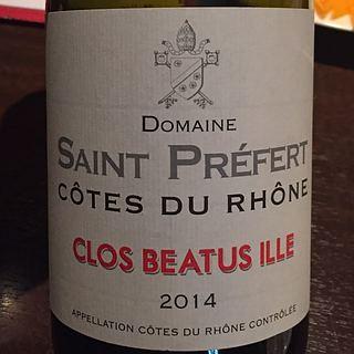 Dom. Saint Préfert Côtes du Rhône Clos Beatus Ille(ドメーヌ・サン・プレフェール コート・デュ・ローヌ クロ・ベアートゥス・イレ)