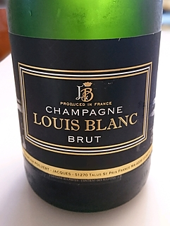 Champagne Louis Blanc Brut(シャンパーニュ・ルイ・ブラン ブリュット)