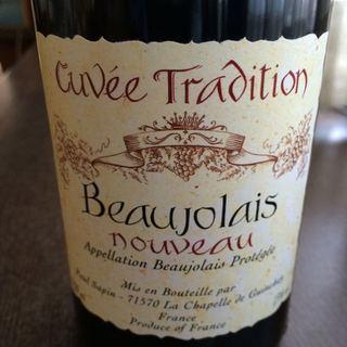 Paul Sapin Beaujolais Nouveau Cuvée Tradition