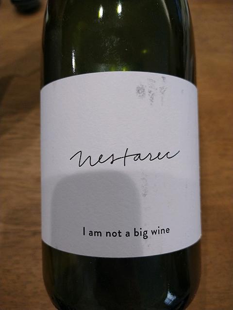 Milan Nestarec I am not a big wine 2015(ミラン・ネスタレッツ アイ・アム・ノット・ア・ビッグ・ワイン)