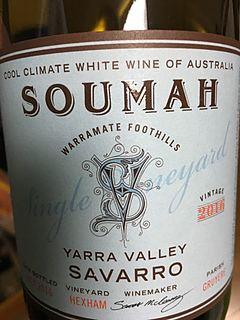 Soumah Single Vineyard Savarro