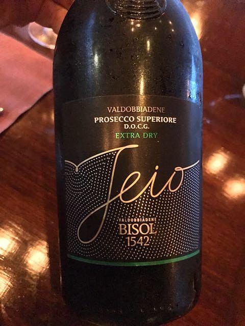 Bisol Jeio Valdobbiadene Prosecco Superiore Extra Dry(ビソル ジェイオ ヴァルドッビアーデネ プロセッコ・スペリオーレ エクストラ・ドライ)