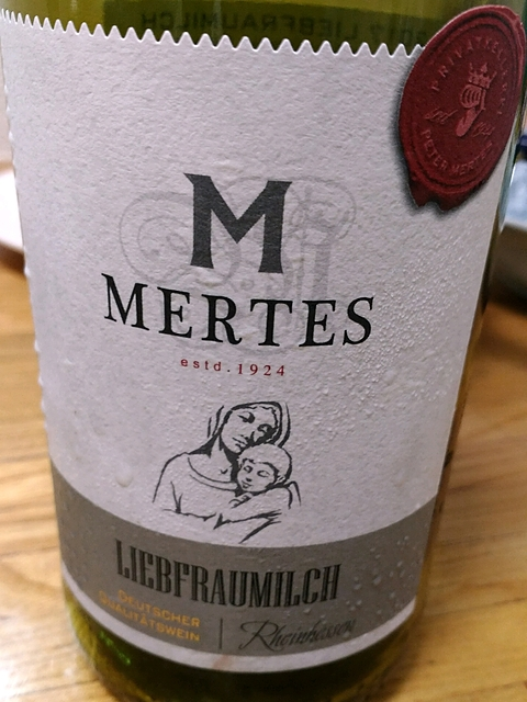 Peter Mertes Liebfraumilch(ペーター・メルテス リープフラウミルヒ)