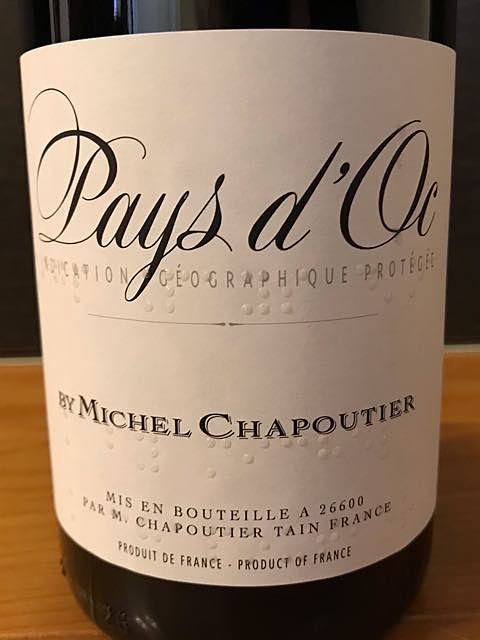 M. Chapoutier Pays d'Oc Rouge(M. シャプティエ ペイ・ドック ルージュ)