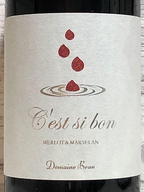 Dom. Beau C'est si bon Merlot&Marselan(ドメーヌ・ボー セシボン メルロー&マルスラン)