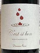 ドメーヌ・ボー セシボン メルロー&マルスラン(2020)