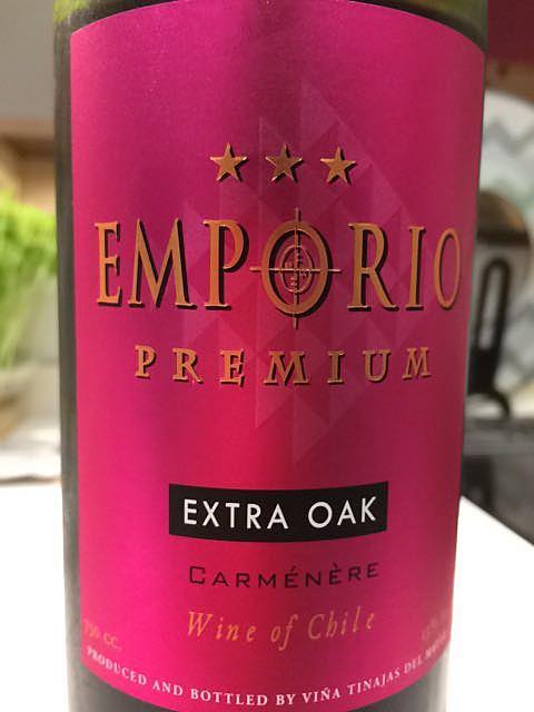 Emporio Premium Extra Oak Carménère(エンポリオ プレミアム エクストラ・オーク カルメネール)