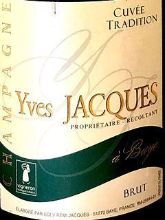 Yves Jacques Cuvée Tradition(イヴ・ジャック キュヴェ・トラディション)