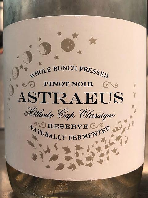 Astraeus Pinot Noir MCC(アストライオス ピノ・ノワール)
