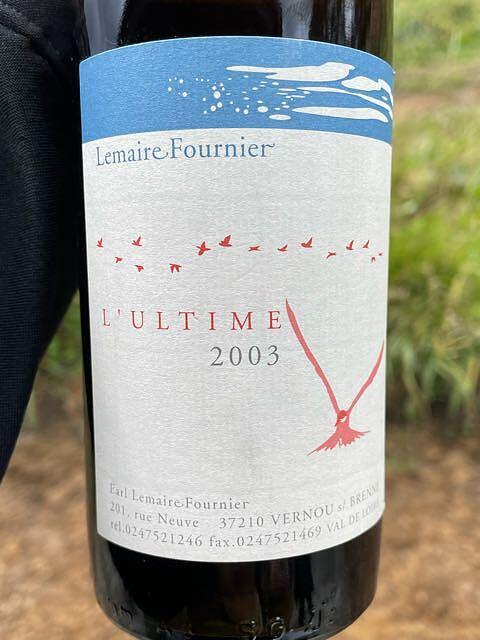 Lemaire Fournier L'Ultime Blanc(ルメール・フルニエ ウルティム ブラン)