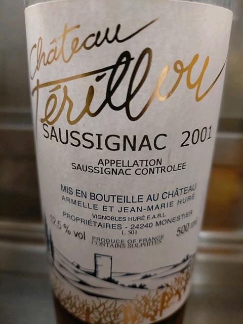 Ch. Térillou Saussignac(シャトー・テリルー ソーシニャック)
