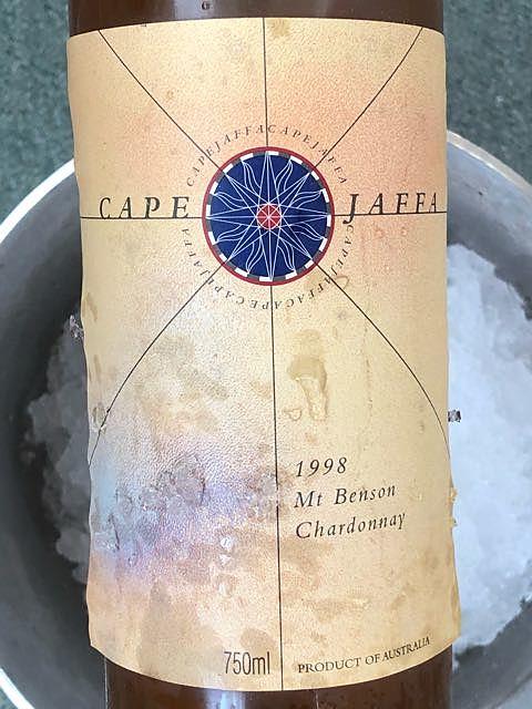 Cape Jaffa Chardonnay(ケープ・ジャッファ シャルドネ)