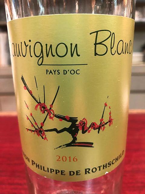Baron Philippe de Rothschild Pays d'Oc Sauvignon Blanc(バロン・フィリップ・ド・ロートシルト ペイドック ソーヴィニヨン・ブラン)