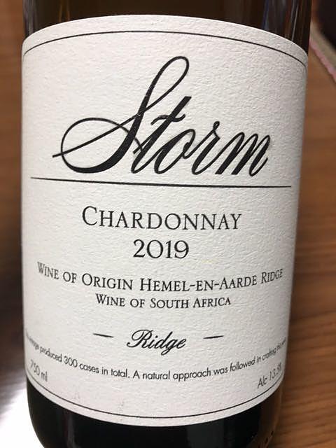 Storm Ridge Chardonnay