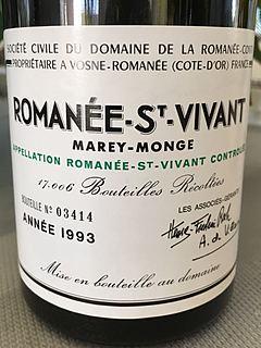 Dom. de La Romanée Conti Romanée St Vivant