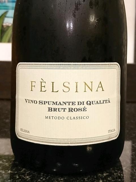 Fèlsina Spumante Brut Rosé(フェルシナ スプマンテ ブリュット・ロゼ)