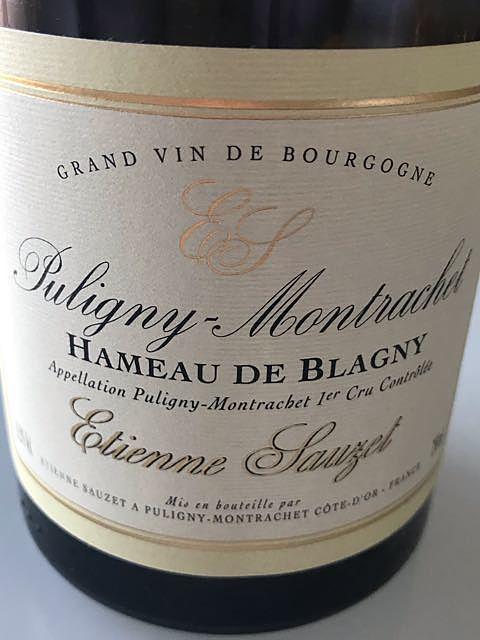Etienne Sauzet Puligny Montrachet 1er Cru Hameau de Blagny