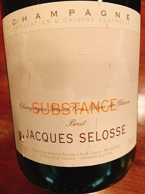Jacques Selosse Substance Brut