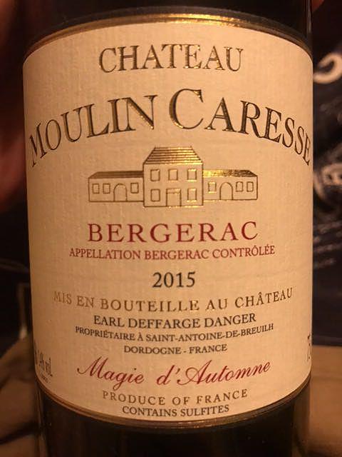 Ch. Moulin Caresse Bergerac Rouge(シャトー・ムーラン・カレッス ベルジュラック ルージュ)