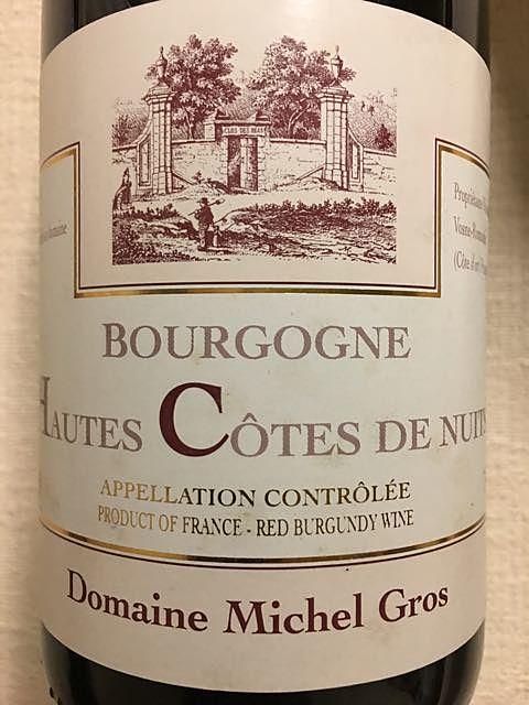 Dom. Michel Gros Bourgogne Hautes Côtes de Nuits Rouge