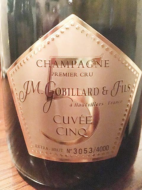 J.M. Gobillard et Fils Cuvée Cinq(JMゴビヤール・エ・フィス キュヴェ・サンク)
