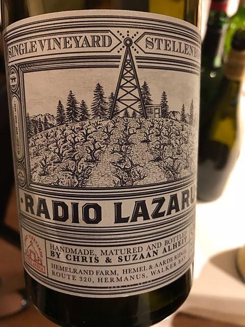 Alheit Vineyards Radio Lazarus