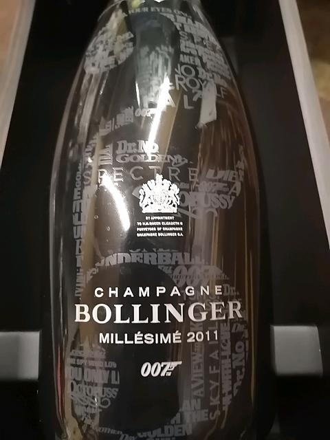 Bollinger James Bond 007 Limited Edition 2011(ボランジェ ジェームス・ボンド 007 リミテッド・エディション)