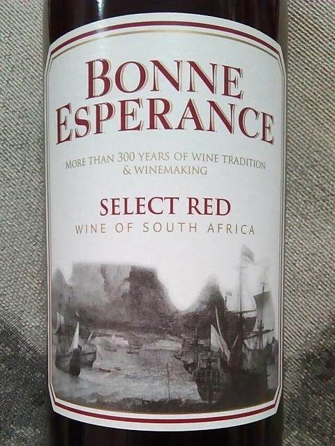 Bonne Esperance Select Red(ボン・エスぺランス セレクト・レッド)