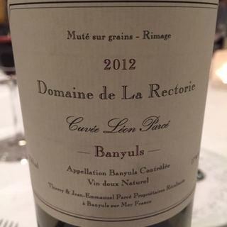 Dom. de la Rectorie Banyuls Cuvée Léon Parcé