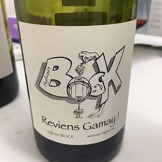 Sylvain Bock Reviens Gamay
