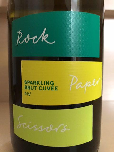 Rock Paper Scissors Sparkling Brut Cuvée(ロック・ペーパー・シザーズ スパークリング ブリュット・キュヴェ)