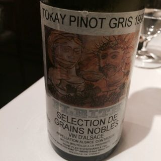 Fleith Tokay Pinot Gris Selection Grains Nobles