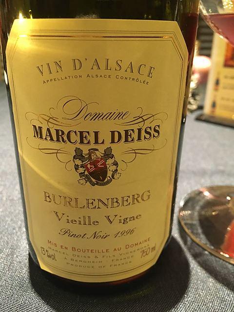 Marcel Deiss Burlenberg Vieilles Vignes