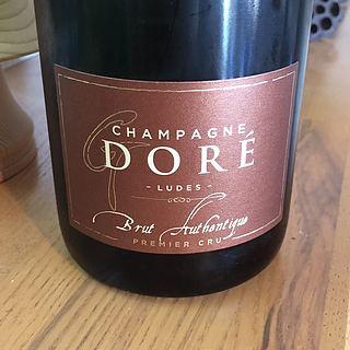 Champagne Doré Brut Authentique(シャンパーニュ・ドレ ブリュット オーセンティック)