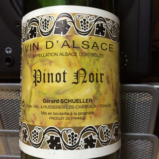 Gérard Schueller Pinot Noir(ジェラール・シュレール ピノ・ノワール)