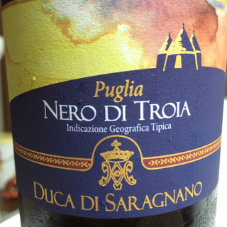 Duca di Saragnano Puglia Nero di Troia(ドゥーカ・ディ・サラニャーノ プーリア ネーロ・ディ・トロイア)