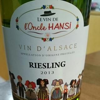 Le Vin de l'Oncle Hansi Riesling