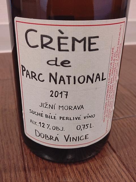 Dobrá Vinice Créme de Parc National(ドブラー・ヴィニツェ クレーム・ド・パーク・ナショナル)
