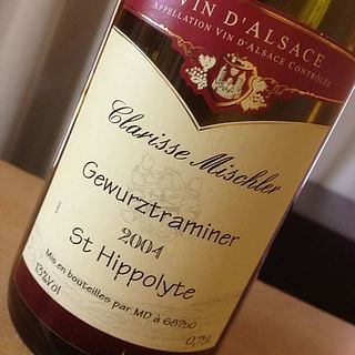 Clarisse Mischler Gewürztraminer St. Hippolyte