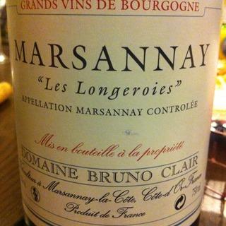 Dom. Bruno Clair Marsannay Les Longeroies
