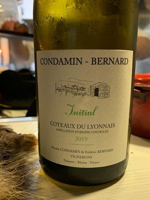Condamin Bernard Initial Coteaux du Lyonnais Blanc(コンダマン・ベルナール イニシャル コトー・デュ・リヨネ ブラン)