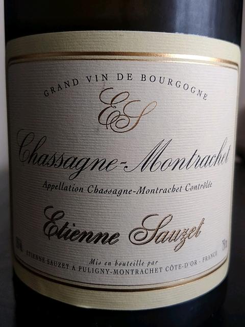Etienne Sauzet Chassagne Montrachet