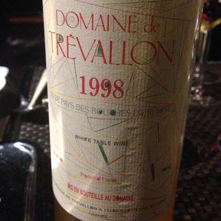 Dom. de Trévallon Blanc 1998