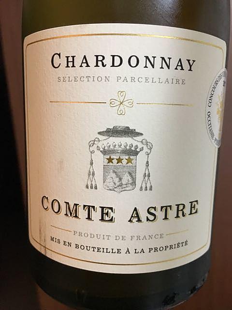 Comte Astre Chardonnay