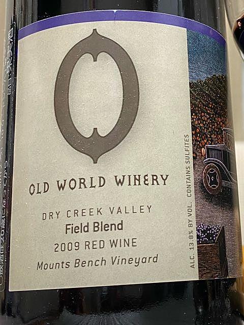 Old World Winery 2009 Field Blend(オールド・ワールド・ワイナリー フィールド・ブレンド)