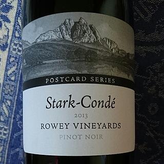 Stark Condé Postcard Series Rowey Vineyards Pinot Noir