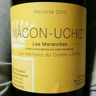 Les Héritiers du Comte Lafon Mâcon Uchizy Les Maranches