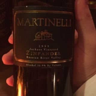 Martinelli Jackass Vineyard Zinfandel