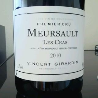 Vincent Girardin Meursault 1er Cru Les Cras